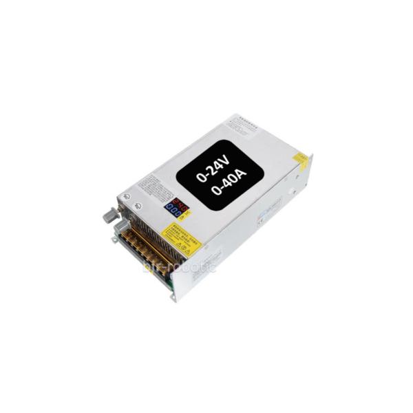 منبع تغذیه سوئیچینگ 24 ولت 40 آمپر قابل تنظیم 1000W