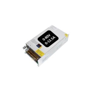 منبع تغذیه سوئیچینگ 80 ولت 12.5 آمپر قابل تنظیم 1000W