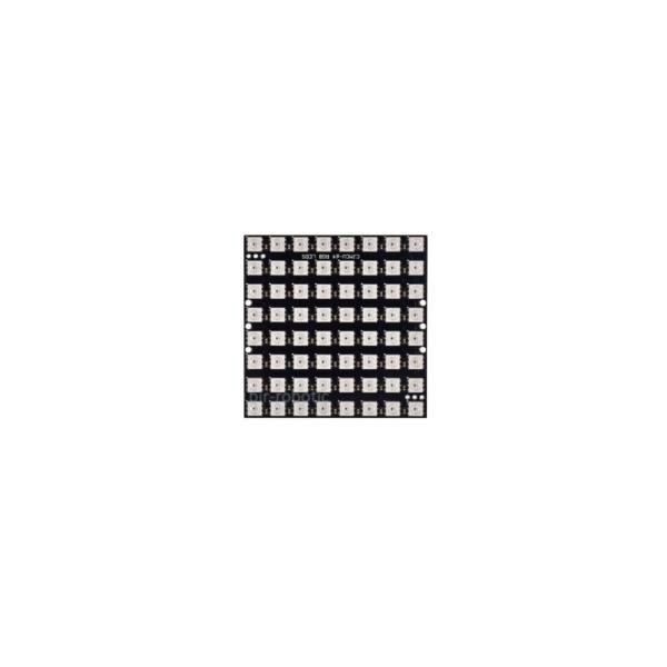 ماژول LED RGB مربعی 8*8 تایی WS2812