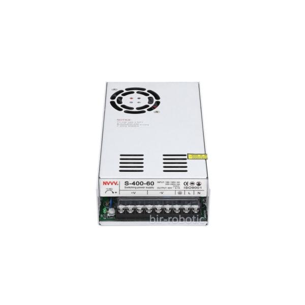 منبع تغذیه سوئیچینگ 60 ولت 6.6 آمپر مدل S-400-60