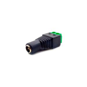 فیش آداپتور مادگی ۵.۵mm به ترمینال دو پین DC