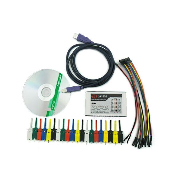 لاجیک آنالایزر 16 کاناله LA1016 اقلام همراه