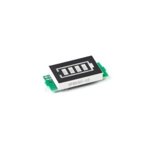 نمایشگر آبی سطح شارژ باتری