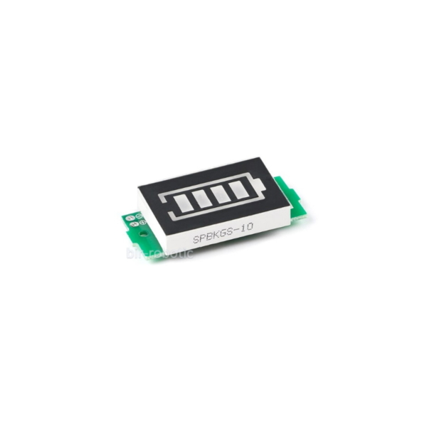 نمایشگر سبز سطح شارژ باتری