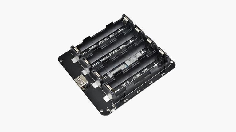 شیلد باتری لیتیومی 18650 چهار سل