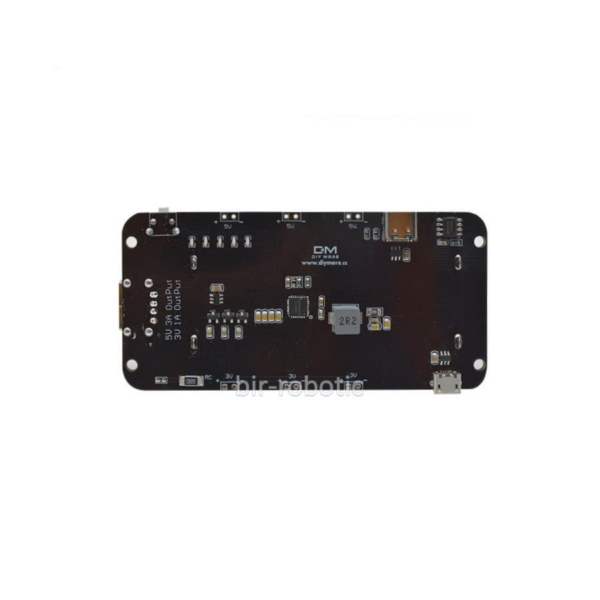 شیلد باتری لیتیومی 18650 دو سل با ورودی Micro USB و تایپ سی