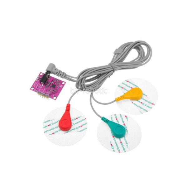 سنسور ECG ضربان قلب مدل AD8232