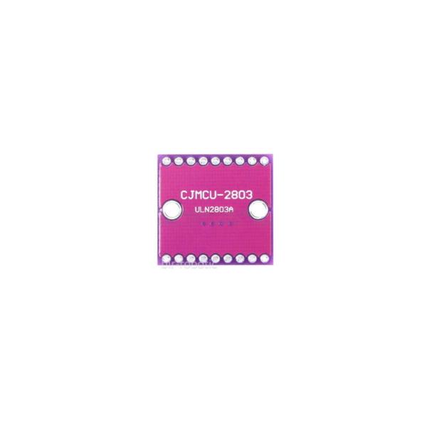 ماژول درایور CJMCU-2803 با چیپ ULN2803A نمای پایین