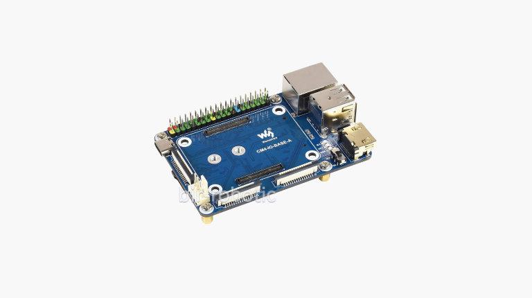 مینی برد توسعه I/O مدل A برای ماژول پردازشی 4 (CM4) تصویر متن اصلی