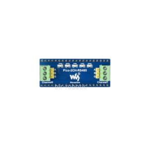 ماژول RS485 دو کاناله رزبری پای پیکو نمای بالا