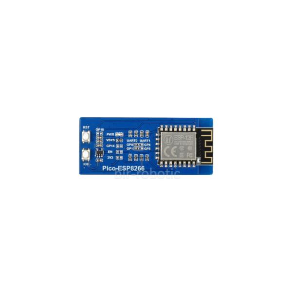 ماژول WIFI ESP8266 رزبری پای Pico نمای بالا