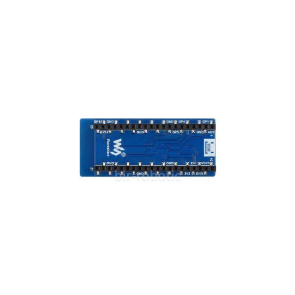 نمای پشت ماژول WIFI ESP8266 رزبری پای Pico