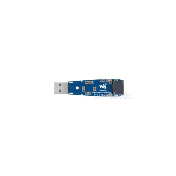 مبدل USB3.2 به گیگابیت اترنت نمای پشت